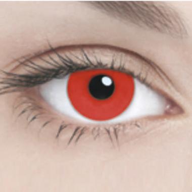 Линзы Adria Crazy 1 шт hot red
