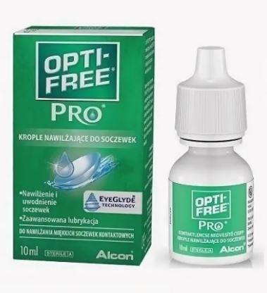 Капли ALCON Opti-Free Pro10ml