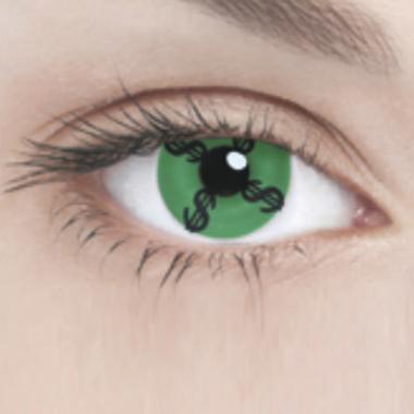 Линзы Adria Crazy 1 шт dollar green