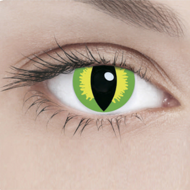 Линзы Adria Crazy 1 шт green banshee