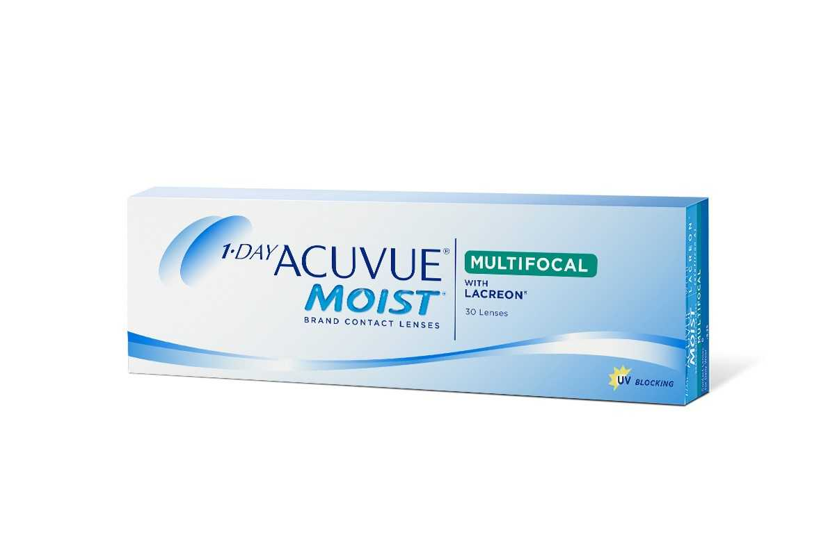 Линзы Acuvue One day Moist Multifocal 30шт
