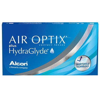 Линзы Air Optix plus HydraGlyde 6шт