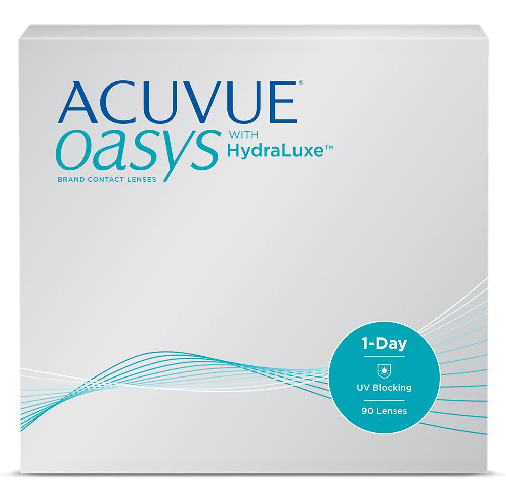 Линзы Acuvue Oasys 1 day 90шт