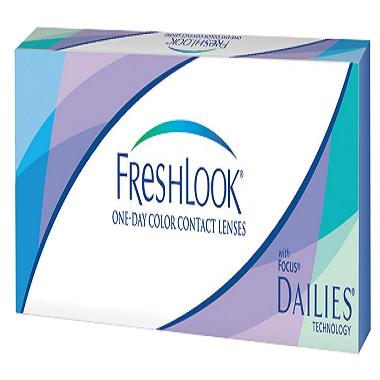 Линзы Fresh Look ONE-DAY color (10шт.)